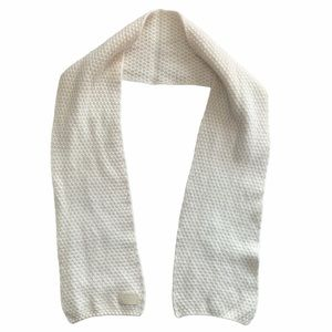COACH Rabbit Hair Cashmere Knit Scarf